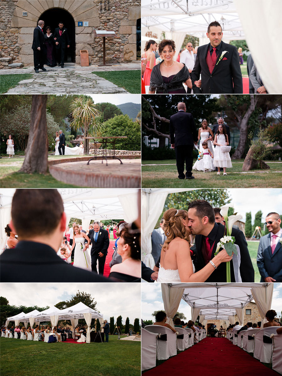 Esteban & Laura's wedding at Mas Sola, Santa Coloma de Farners, Spain. 158