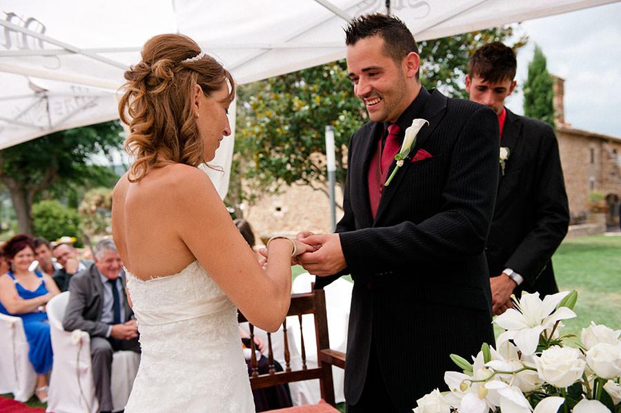 Esteban & Laura's wedding at Mas Sola, Santa Coloma de Farners, Spain. 164