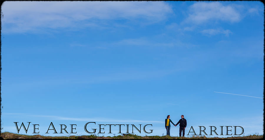 M + J | Couple In Love | Dublin Engagement Session 1