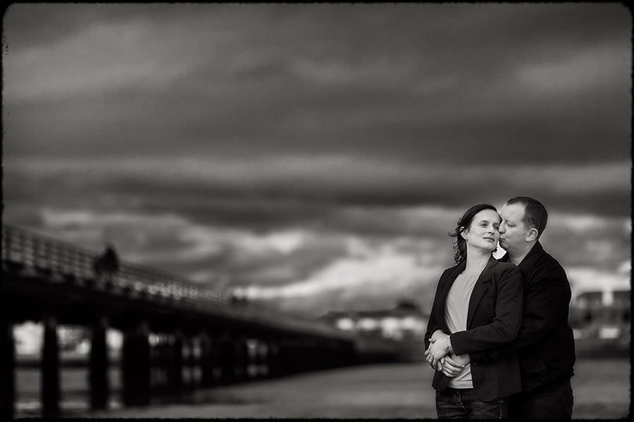 M + J | Couple In Love | Dublin Engagement Session 3