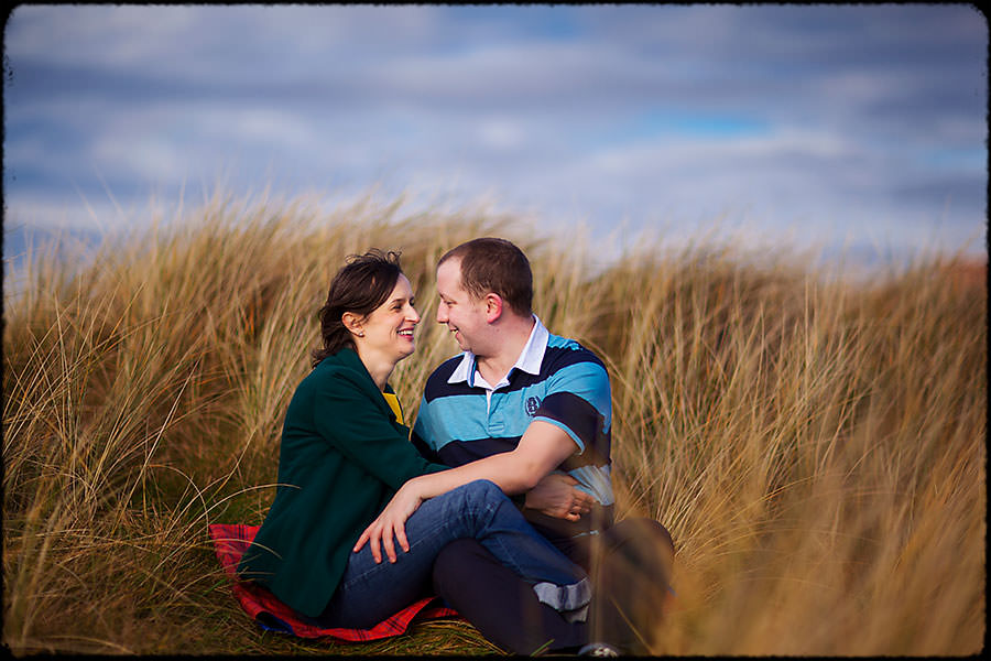 M + J | Couple In Love | Dublin Engagement Session 6