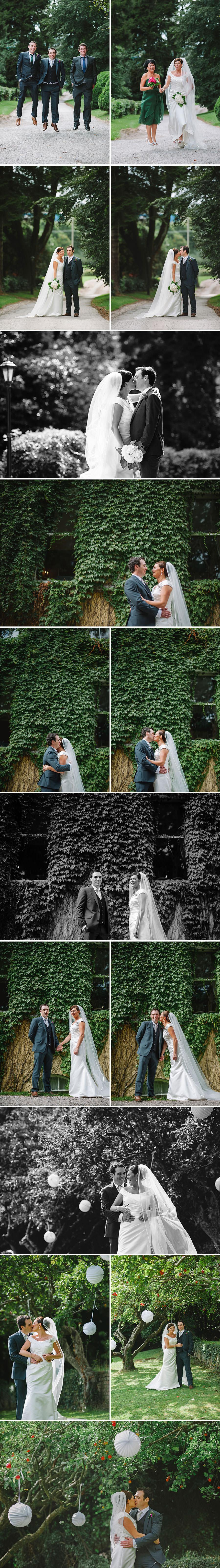 L + J | Garden Outdoor Wedding | Flemings Restaurant | Cork Wedding Photography 19
