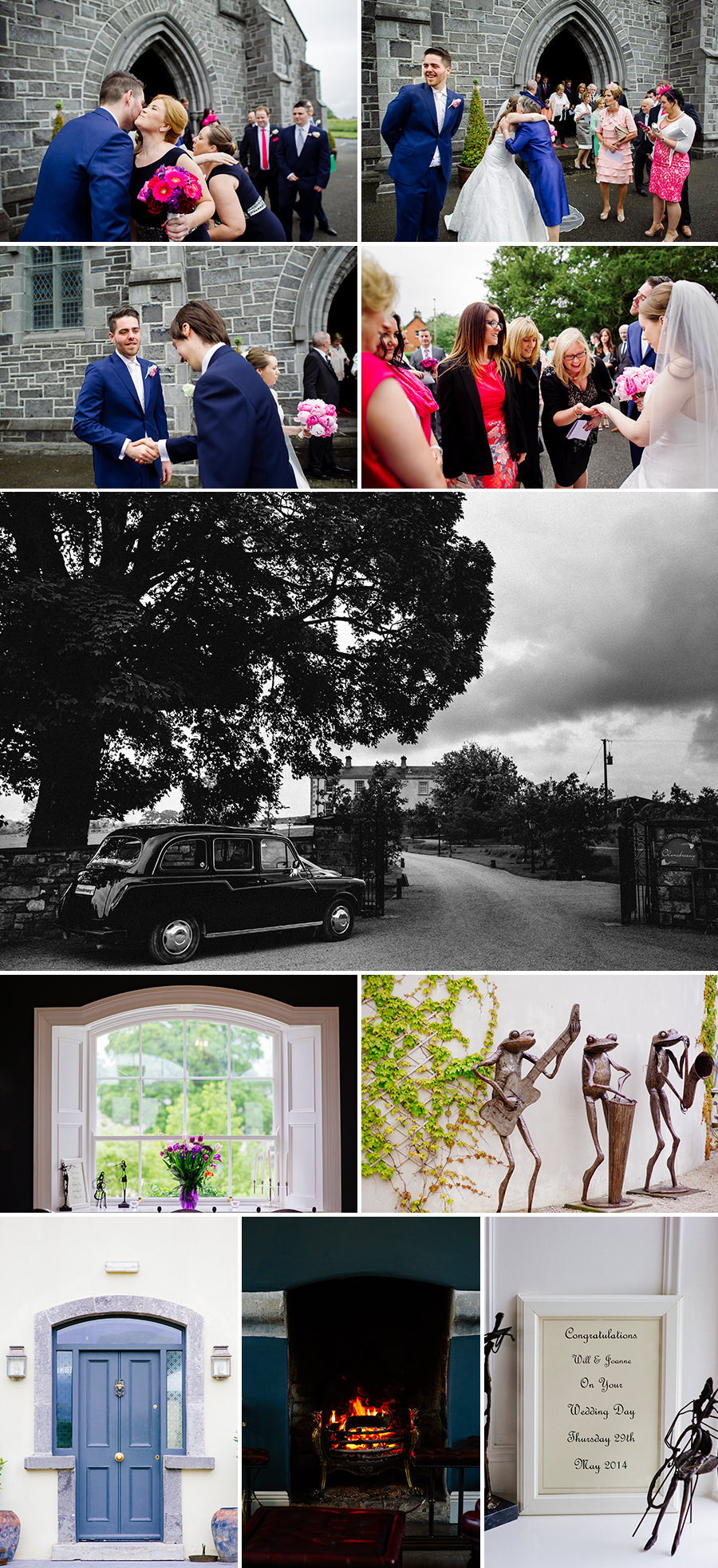 clonabreany house wedding irish wedding photographers 5