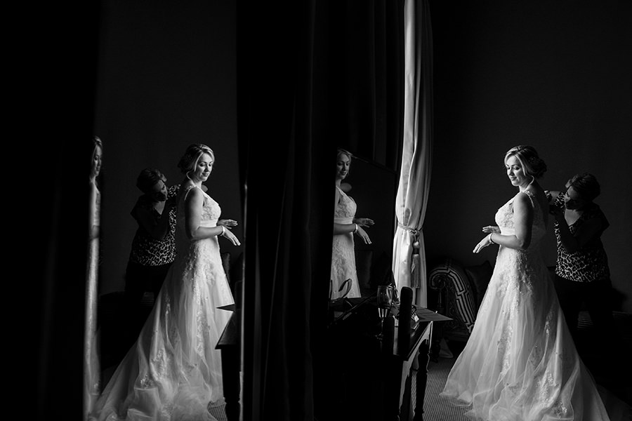 3_maryborough hotel wedding_bride getting ready_cork wedding photographer