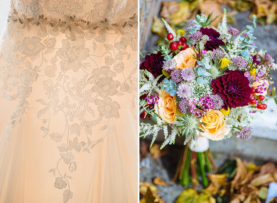 03-American Wedding in Ireland-top wedding dress