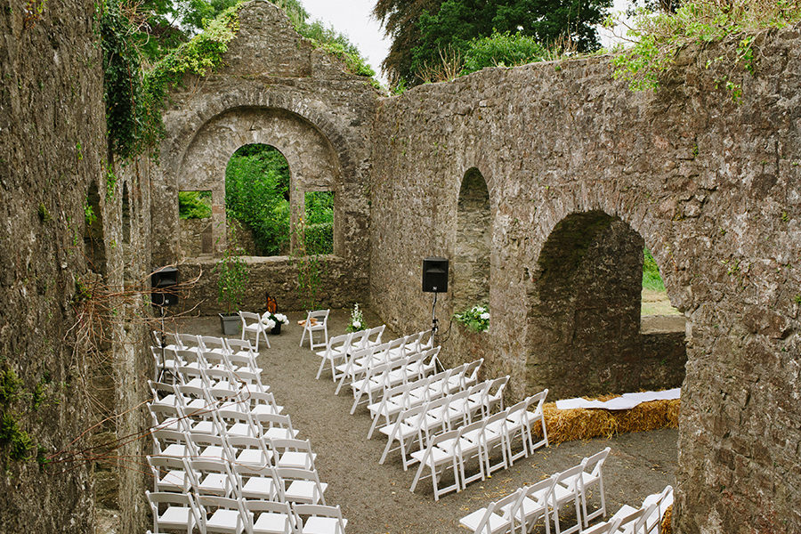 14_loughcrew gardens wedding_outdoor garden wedding