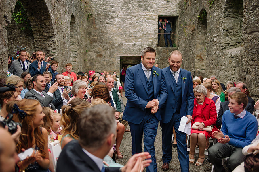19_loughcrew gardens wedding_outdoor garden wedding