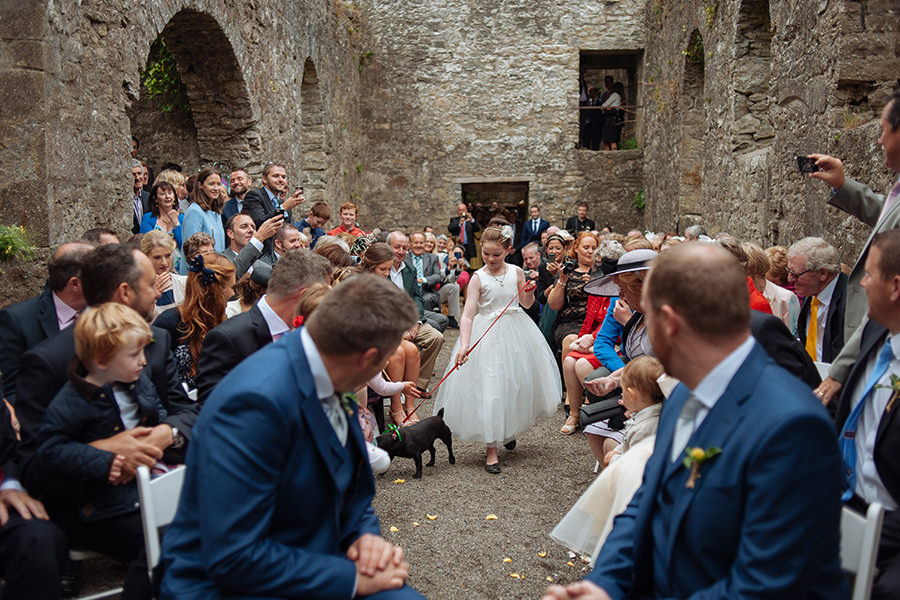 28_loughcrew gardens wedding_outdoor garden wedding