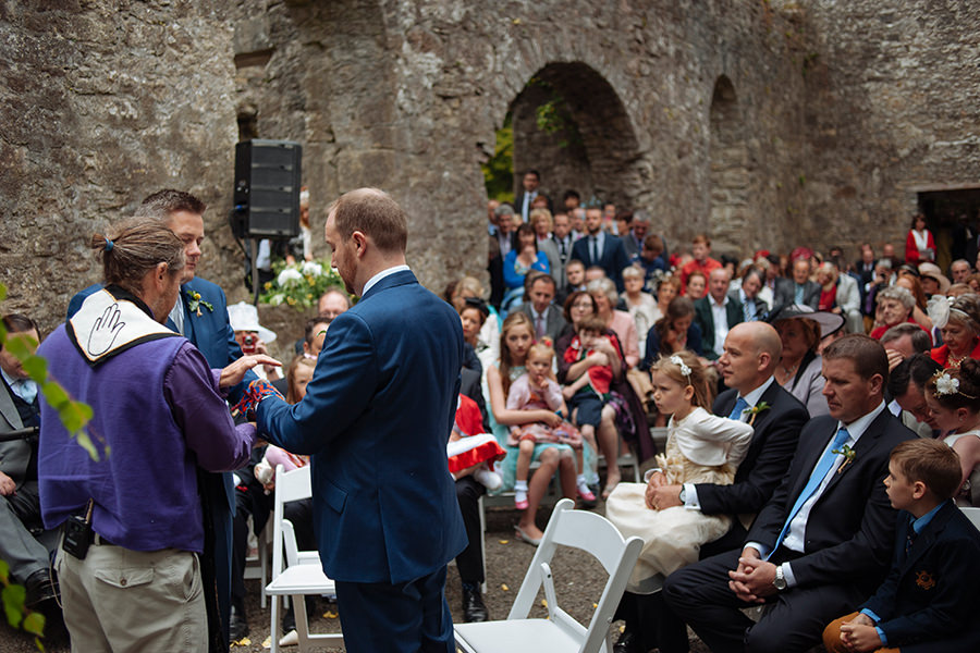 32_loughcrew gardens wedding_outdoor garden wedding
