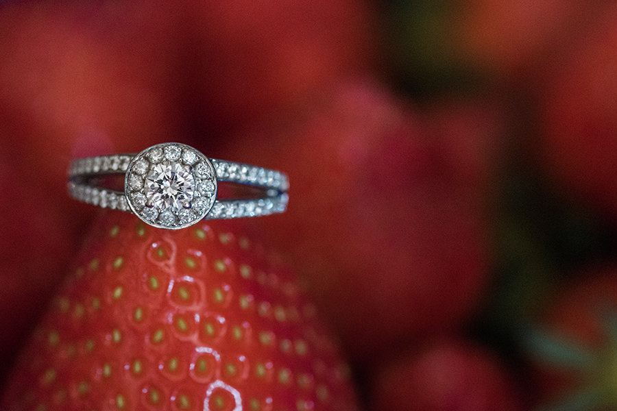 Cabra castle wedding ring