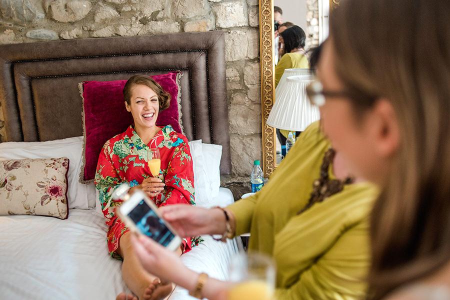 Cabra castle wedding preparations