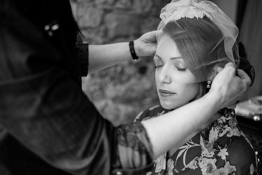 Cabra castle wedding bride photography