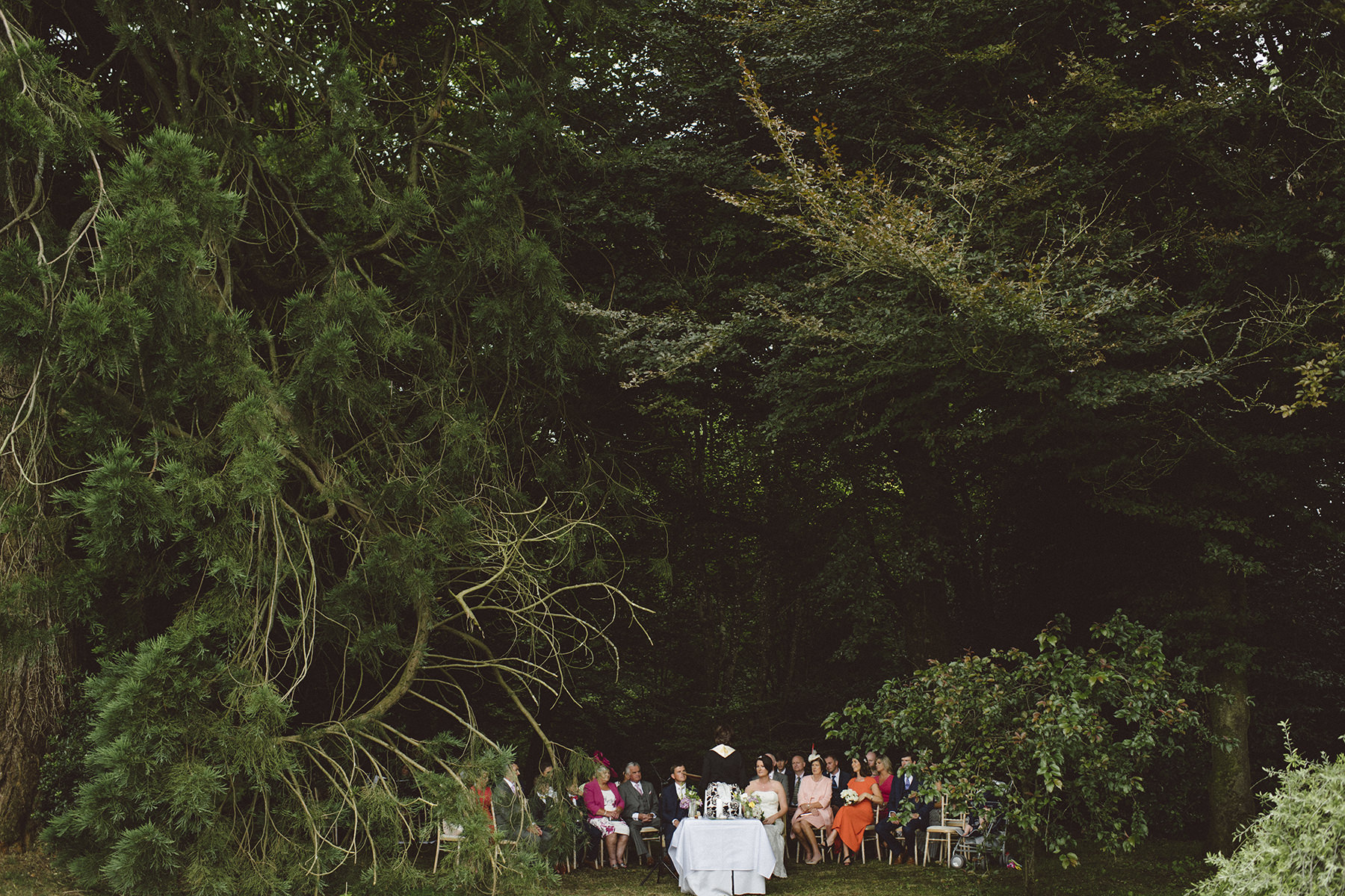 cloughjordan house wedding-ourdoor wedding