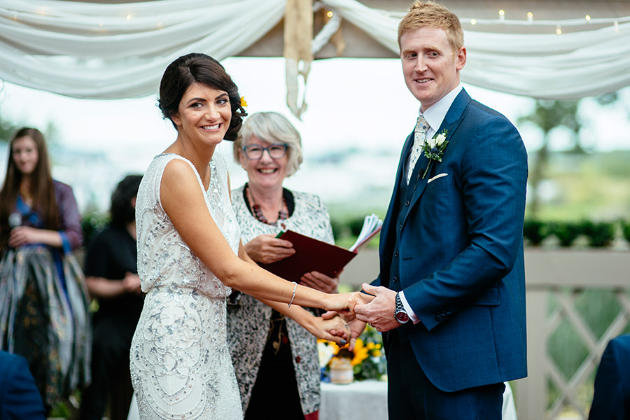 Coolbawn Quay Outdoor Wedding Ireland