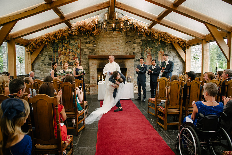 Barberstown Castle Wedding - American Wedding in Ireland