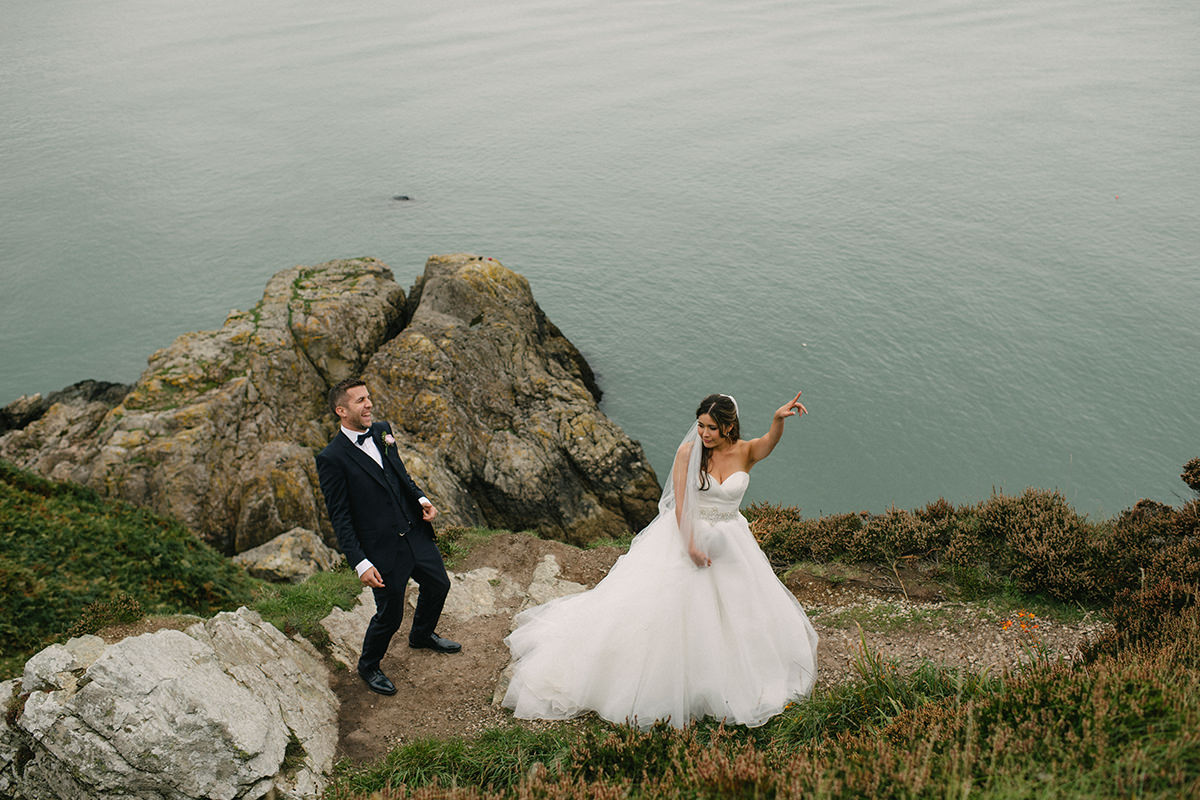 Dublin Wedding Photography | Excited Howth Wedding | S + N 79
