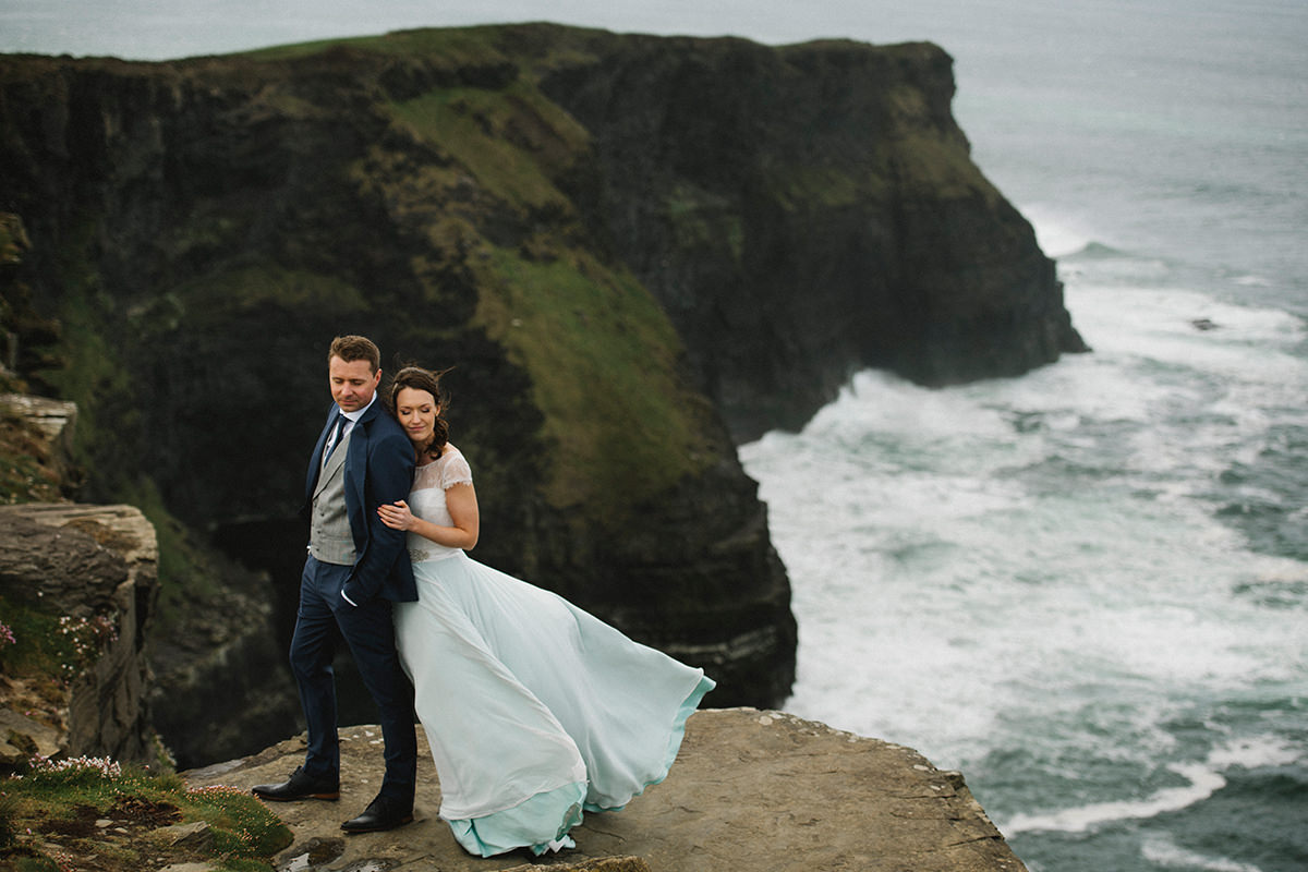 Cliffs of Moher wedding photos Ireland