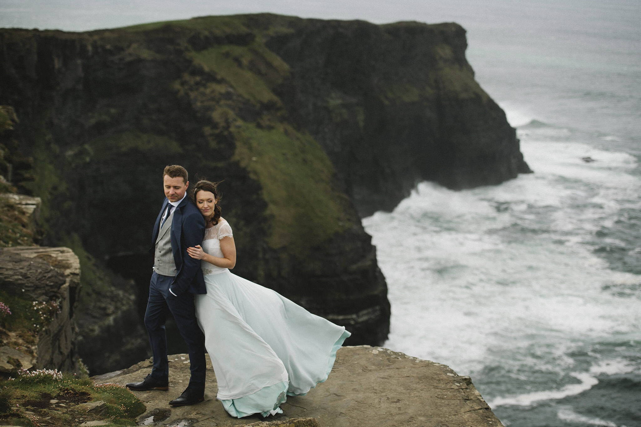 Cliffs of Moher wedding photography