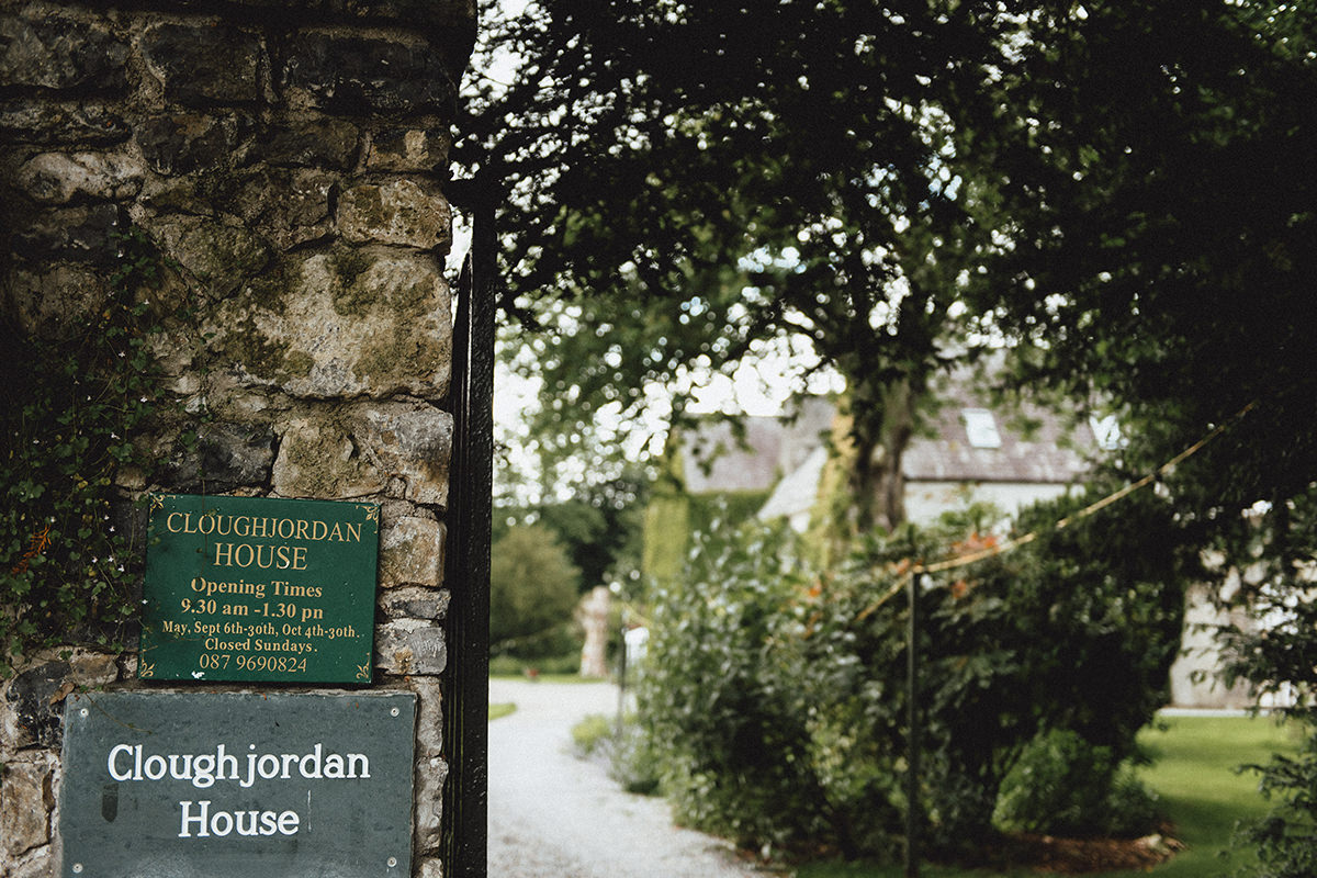 Cloughjordan House Wedding | A + C 1