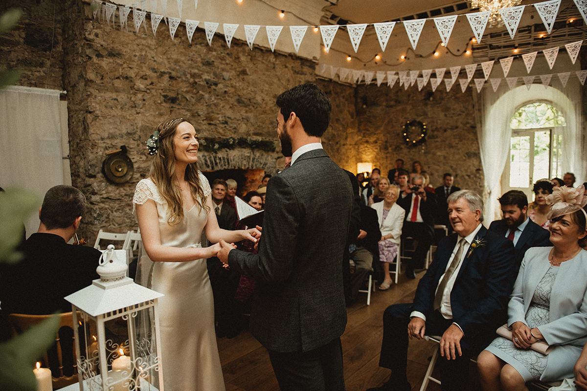 Cloughjordan House Wedding ceremony