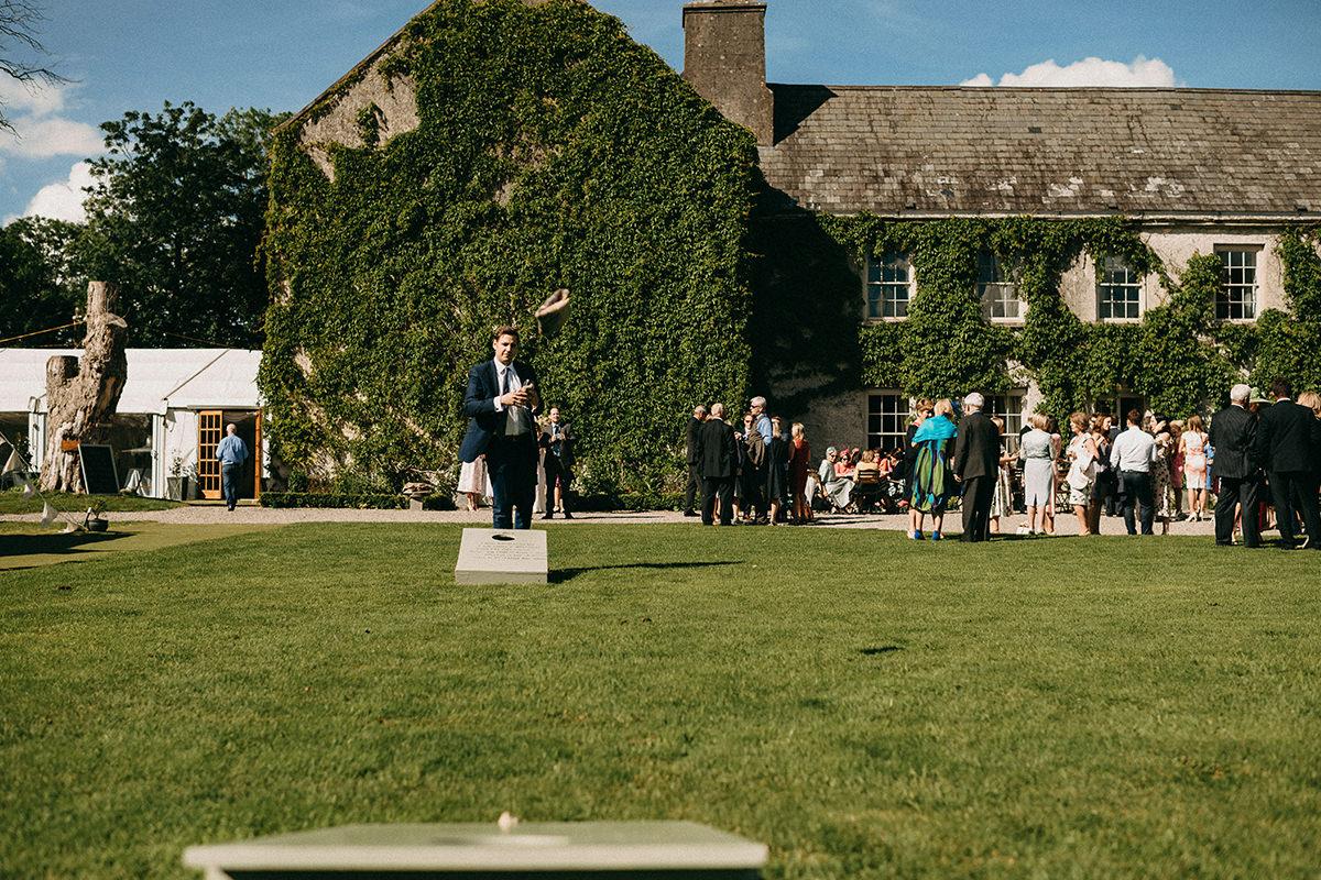 Cloughjordan House | Irish Wedding | C + J 91