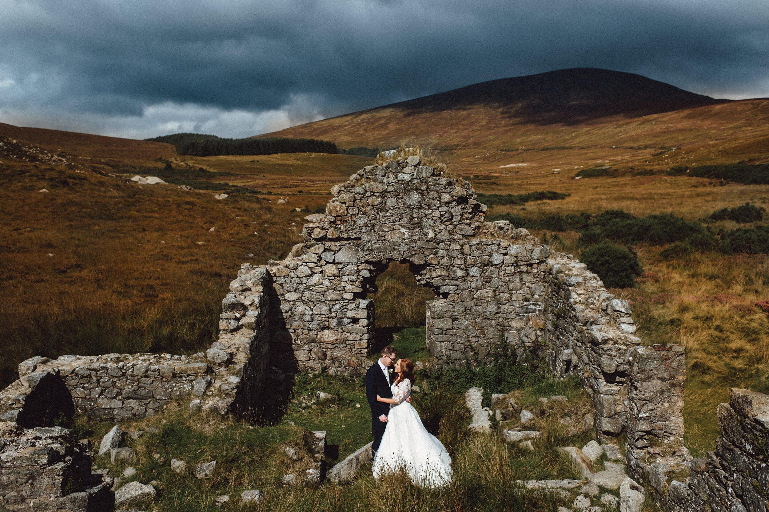 Romantic dreamy Tinakilly House Wedding | G + K 13