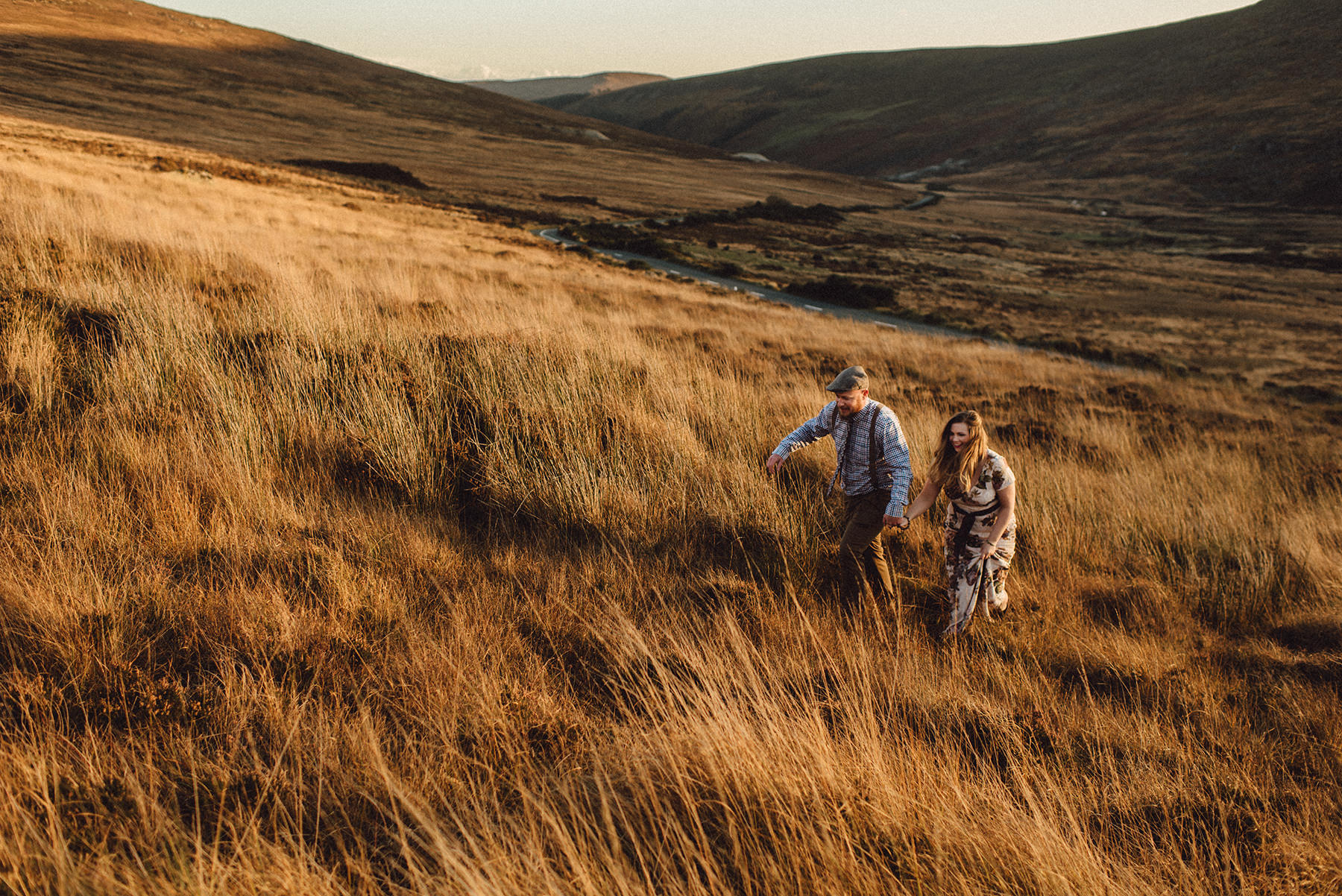 Wicklow Mountains Couple Photography