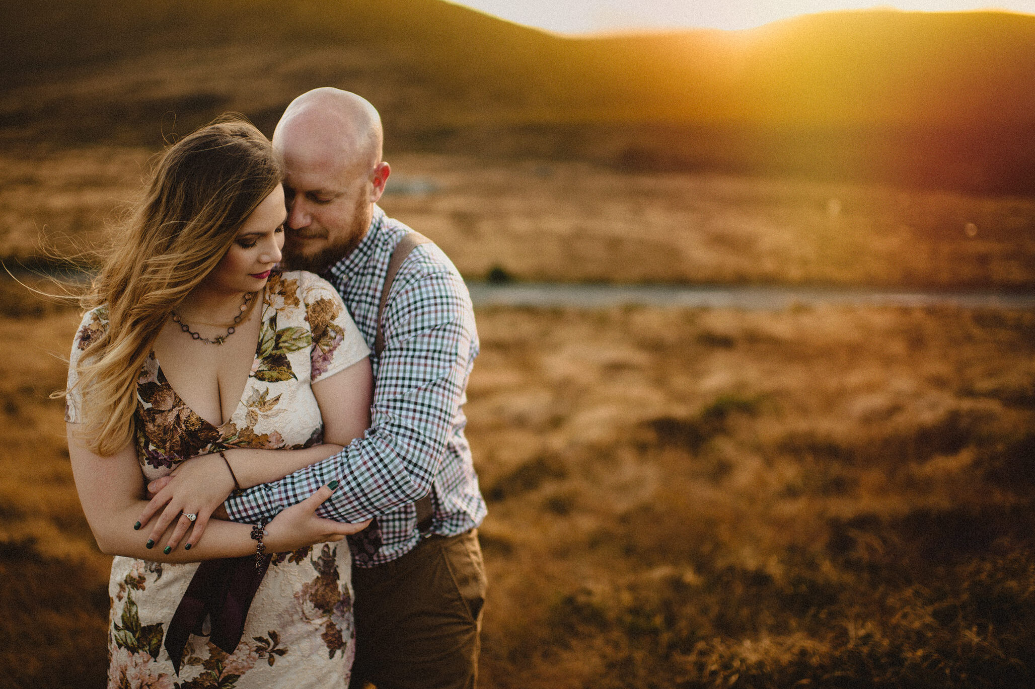 Simply stunning Wicklow Mountains Couple Photography | L + B 10