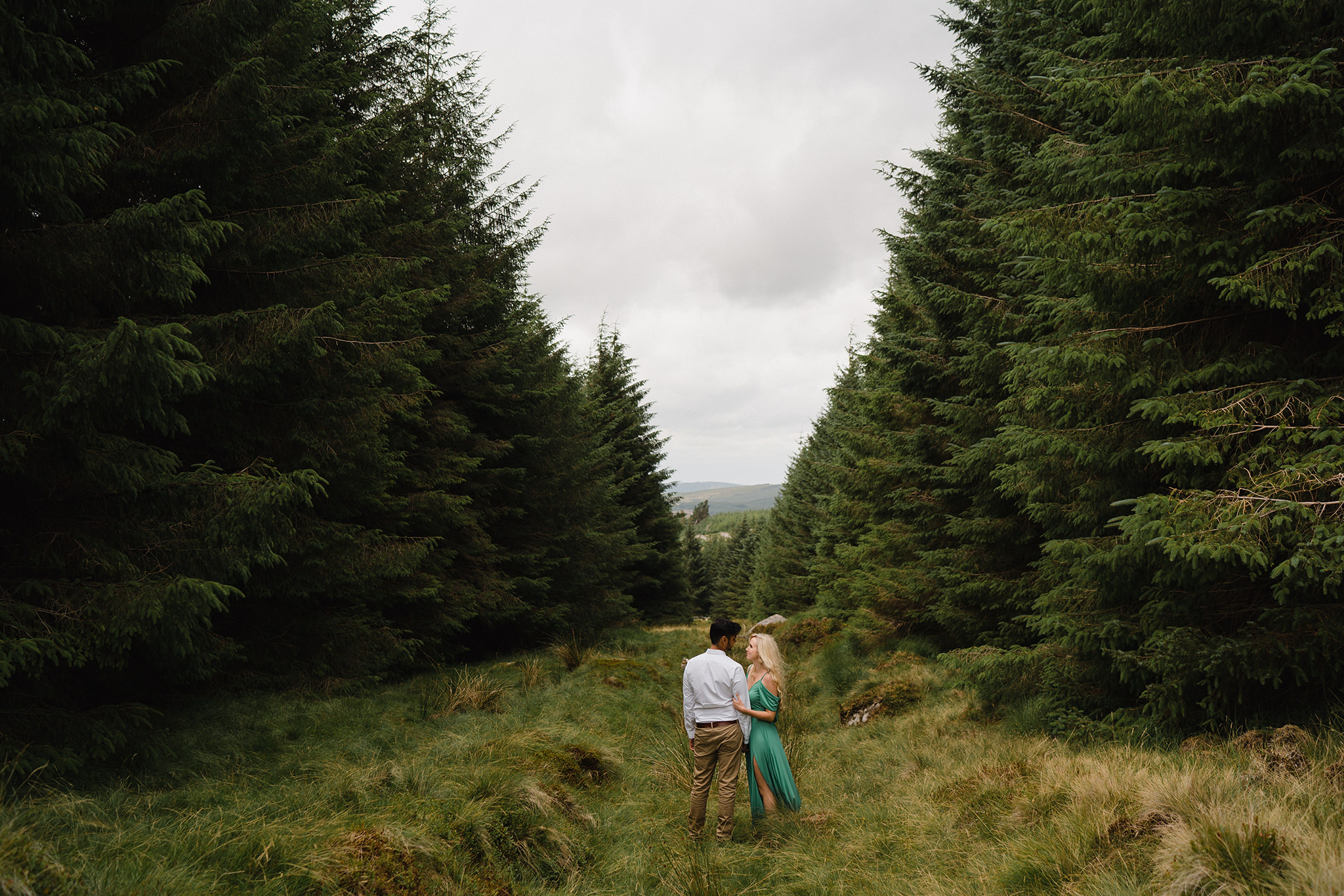 Lovely Wild engagement session in Wicklow 10