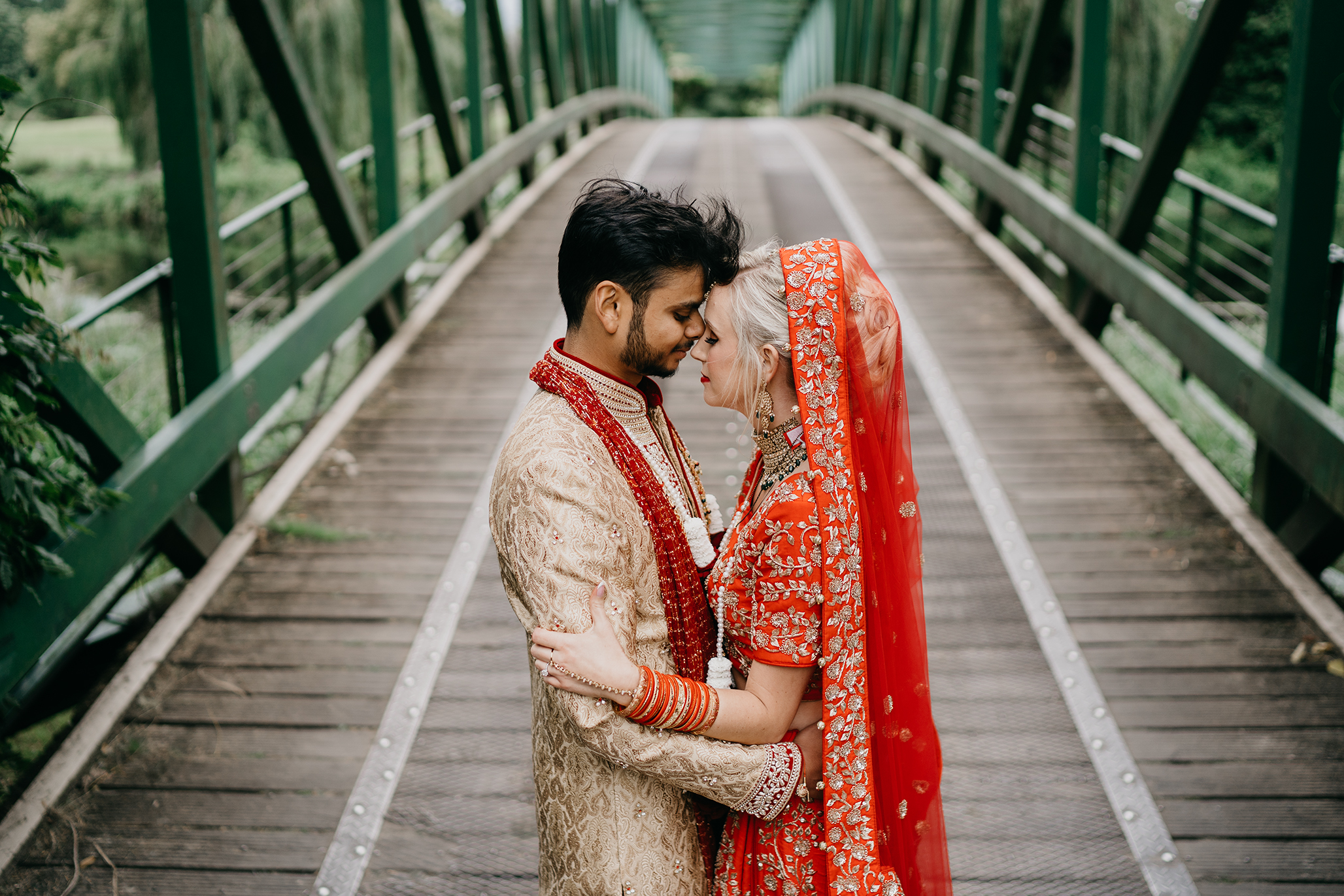 Hindu Irish wedding photography