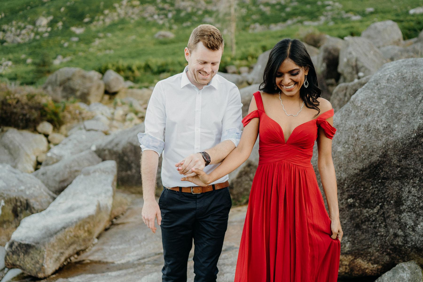 pre wedding photoshoot in Wicklow