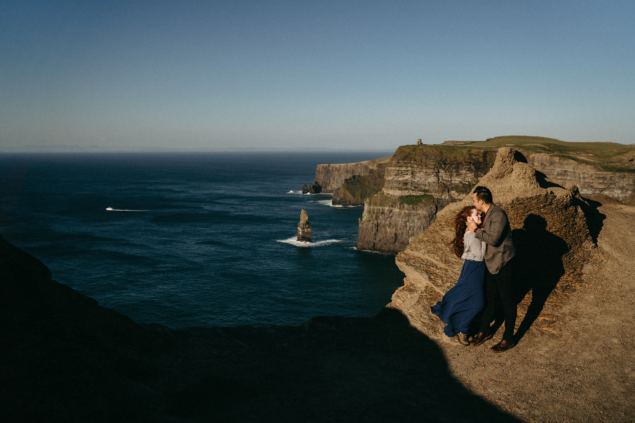 T+D | Wild Cliffs of Moher wedding photography 1