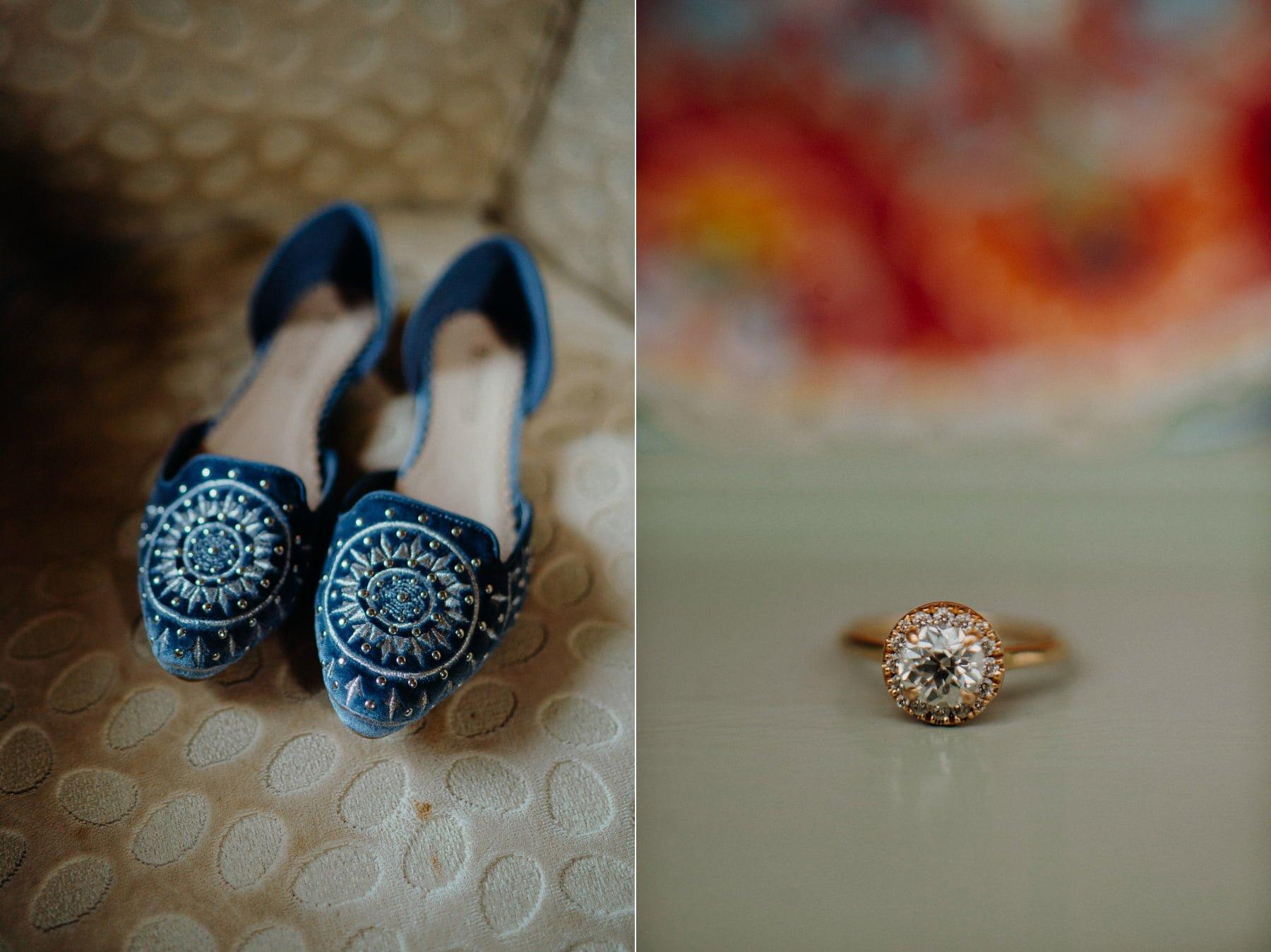 Alternative Wedding Ireland - Whimsical Mount Druid bridal details