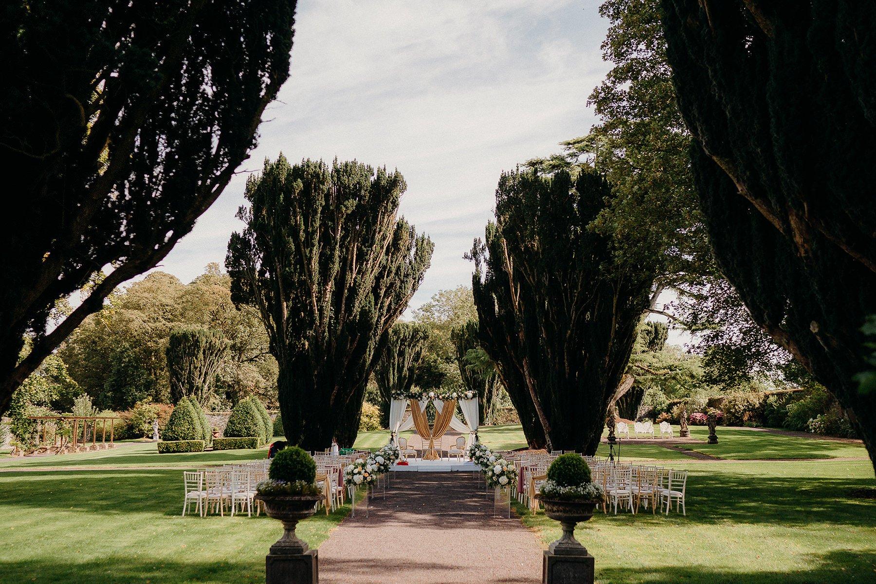 outdoor weddding ceremony venues in Ireland
