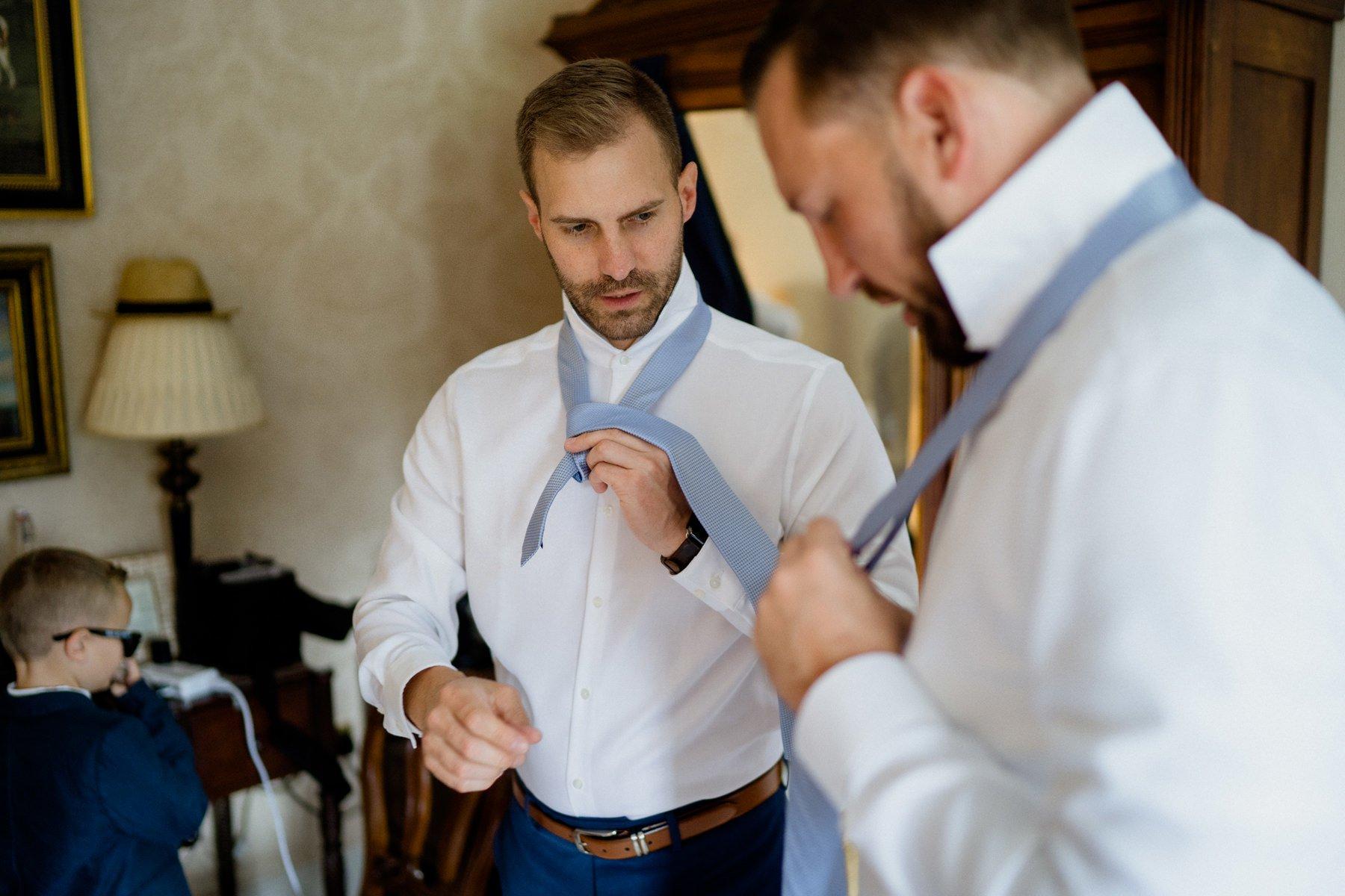 waterford-castle-wedding-groom-getting-ready
