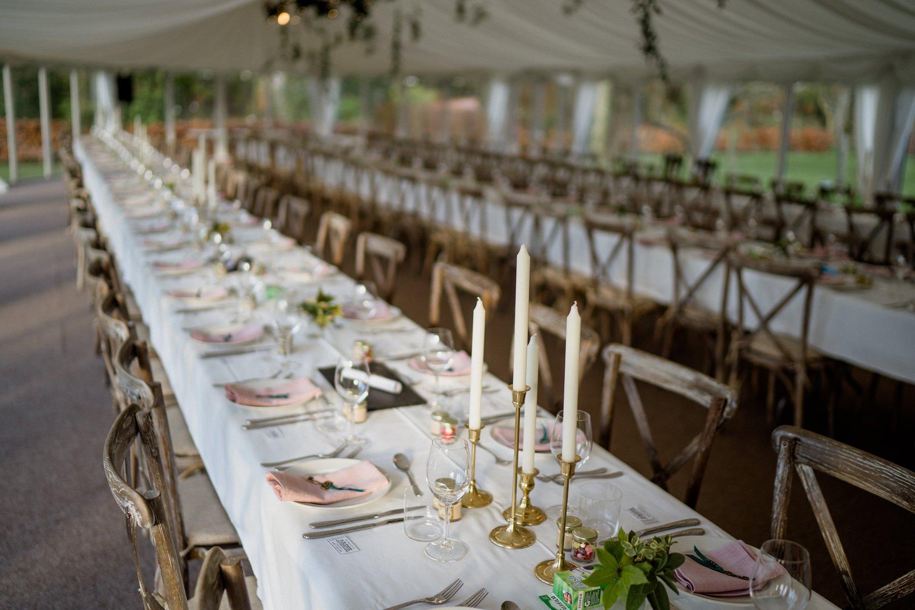 Cloughjordan House Winter Wedding decor