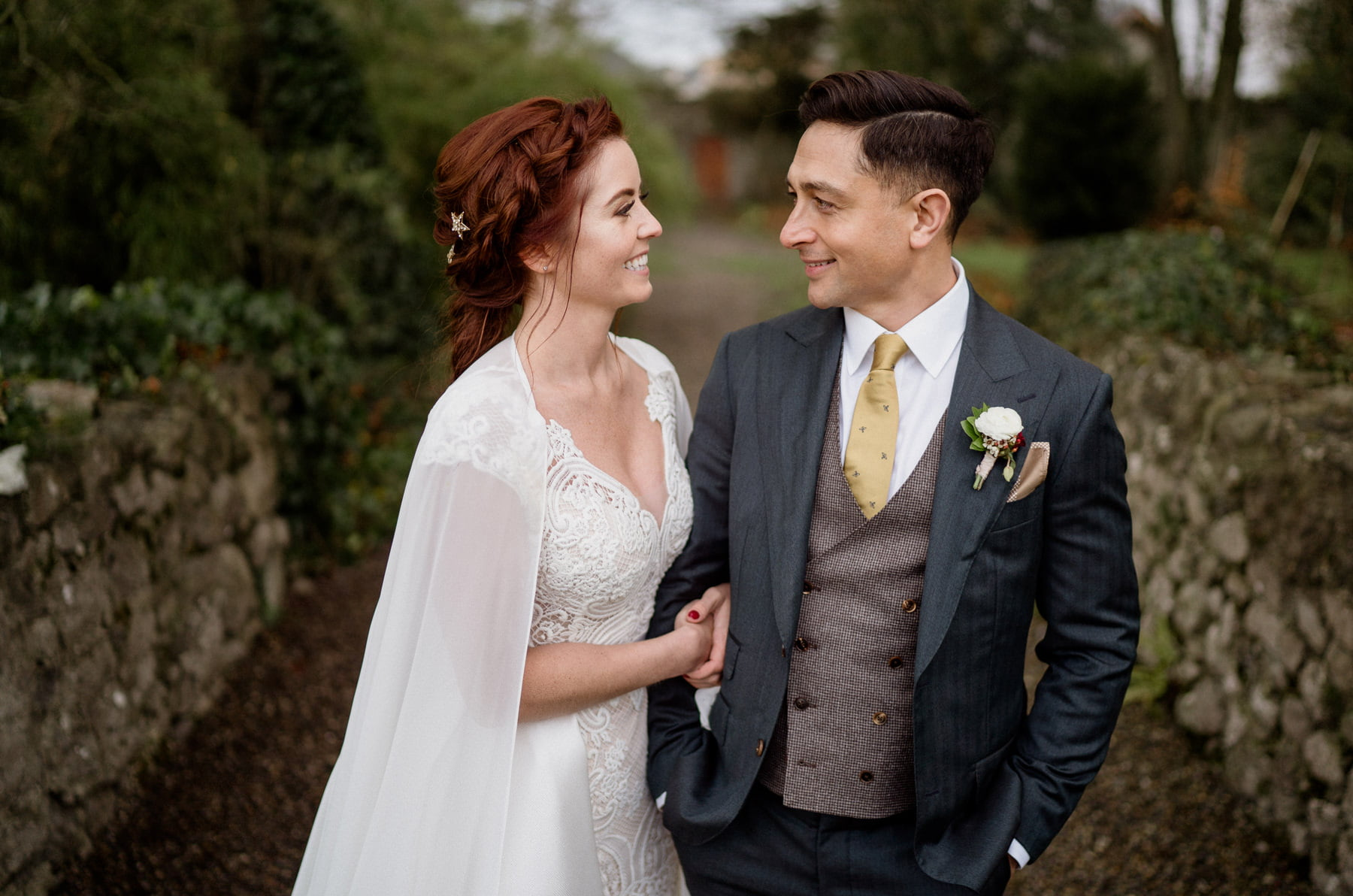 Cloughjordan House Winter Wedding